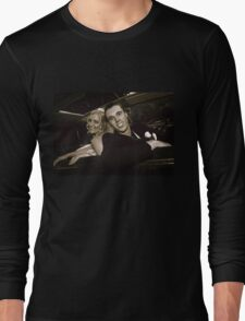 Inside the Wedding Limo Long Sleeve T-Shirt