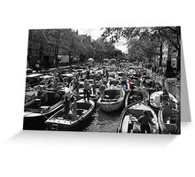 Gridlock in Amsterdam Greeting Card