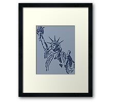 Statue of Liberty Framed Print