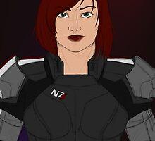 Shepard by BloodUnbound