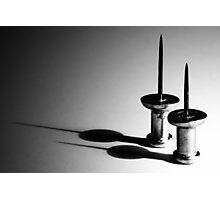 Push Pins Shadows Photographic Print