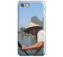 Cruising the mountains of Yangshuo  iPhone Case/Skin