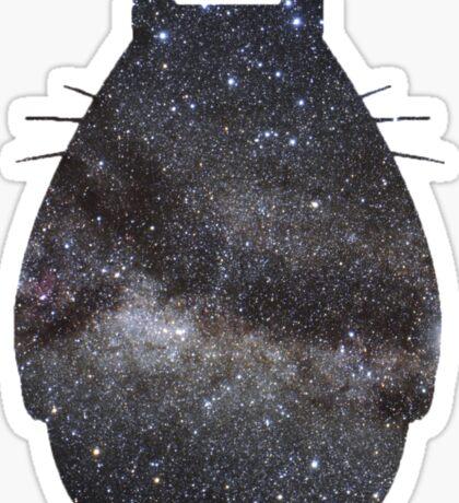 Space Totoro Sticker
