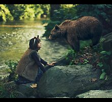 Bear and bear by AlexandraSophie