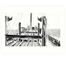 In The North Atlantic (2) Art Print
