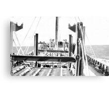 In The North Atlantic (2) Canvas Print