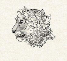 Beautifully Endangered - Snow Leopard Zipped Hoodie