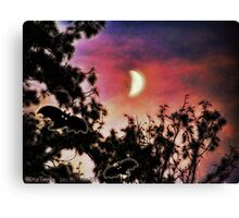 Happy Howling Canvas Print