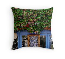 Leafy Doorway - Hahndorf Adelaide Hills Throw Pillow