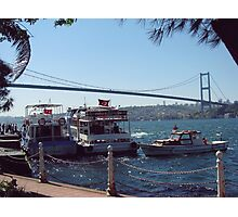 Bosphorus Bridge-Turkey Photographic Print