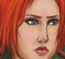 Leliana - Mixed Media Portrait Sticker