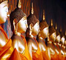 13 Buddhas by Ed Pereira