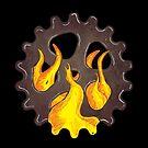 Burning Gear by LovelessDGrim