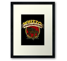 Whizzo The Original Chocolate Frog Framed Print