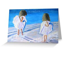 Breeze for Two Greeting Card