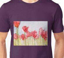 Field of tulips Unisex T-Shirt