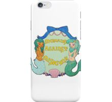 Mermaids Against Misogyny  iPhone Case/Skin