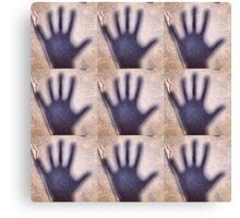 Shadow Hands Canvas Print