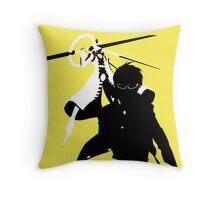 Yu Narukami/Izanagi-no-Okami (Persona 4) Throw Pillow
