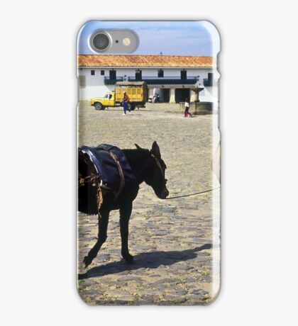 Off to Market iPhone Case/Skin