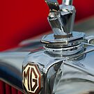 1947 MG TC Hood Ornament by Jill Reger