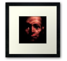 Horror Spinning Around Hugo Framed Print