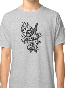 Dagger and Heart - Black Classic T-Shirt