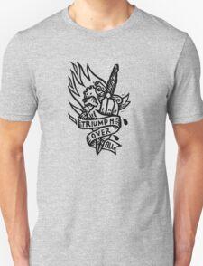 Dagger and Heart - Black Unisex T-Shirt