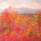 Fall in the mountains 2 by Julia Lesnichy