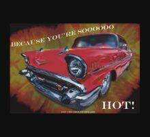 "1957 Chevrolet Bel Air - Because You're Soooooooo HOT! by Michael "" Dutch "" Dyer"