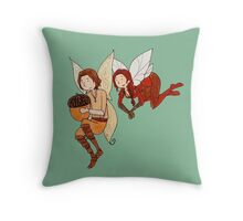 Forest Fairy Rumbelle Throw Pillow