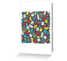Study Time Greeting Card