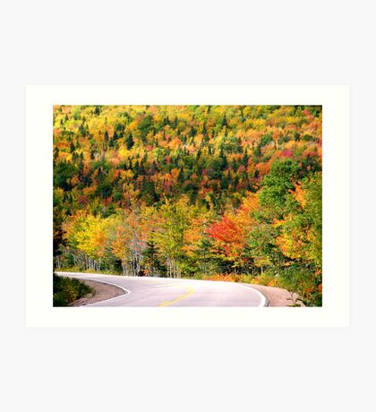 Glorious Autumn Art Print