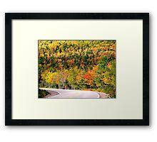Glorious Autumn Framed Print