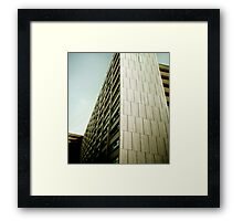 San Francisco Abstract Image of Architecture Framed Print