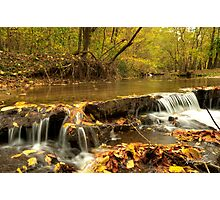 Falling Stream Photographic Print