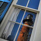 Reflected Lighthouse by Gina Mercieri