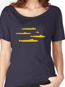 Yellow Submarines Women's Relaxed Fit T-Shirt
