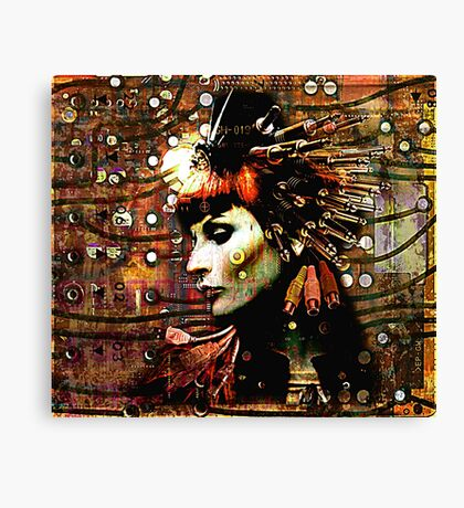 Electronic Canvas Print