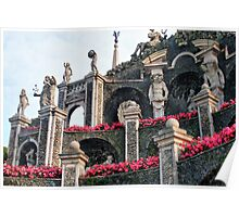 Isola Bella Gardens - The Triumph - detail Poster
