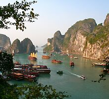 Vietnam, Halong Bay by Lainey Brown