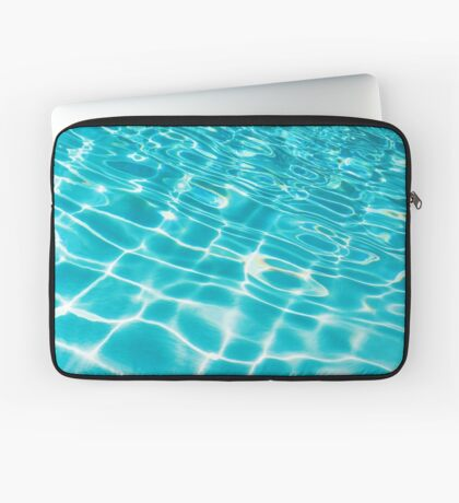 Pool Ripples Laptop Sleeve