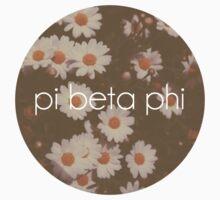 Pi Phi Daisies by Shannon Burt