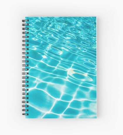 Pool Ripples Spiral Notebook