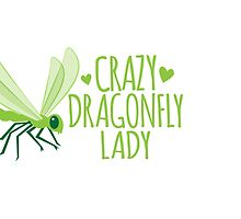 Crazy Dragonfly lady (Cute) by jazzydevil