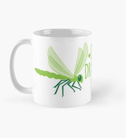 Crazy Dragonfly lady (Cute) Mug