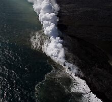 Kilauea By Air by Todd Krebs