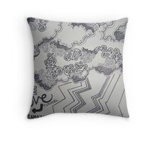 Selected Seeing Throw Pillow