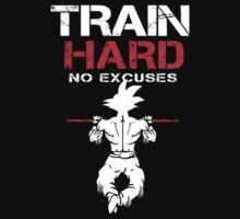 Train Hard Goku by mluata