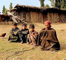 At a small Gypsy community  by Brian Bo Mei